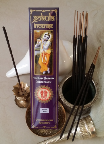 Yellow Rose Incense Sticks - 20 grams